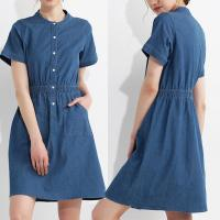 Wholesale Women Summer Clothing 100 % Cotton Denim Dress from china suppliers