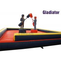 China inflatable fighting game Gladiator Duel inflatable game on sale