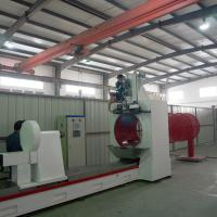 Wholesale 9500MM Length Johnson Wire Screen Welding Machine For Pulp / Paper from china suppliers