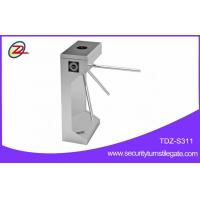 Wholesale Pedestrian factory price tripod turnstile with fingerprint access control from china suppliers