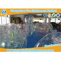 China 0.7mm - 1.0mm TPU Transparent Inflatable Bubble Ball Bubble Zorb Ball on sale