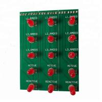 Buy cheap Customized EMS PCBA Board Assembly Electronics Components 1OZ Copper Thickness from wholesalers