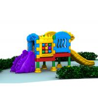 Quality Little Volume Outdoor Kids Plastic Playground Equipment For Doll With Single Layer for sale