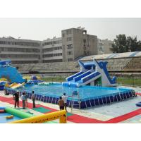 Wholesale Rectangular Metal Frame Pool from china suppliers