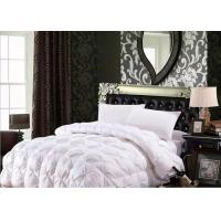 Wholesale 100% Cotton Luxury Duck Down Quilt / Duck Feather And Down Duvet Alternative Washed from china suppliers