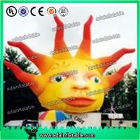 Wholesale 5m Giant Advertising Inflatable Sun with LED Light for Club and Party Decoration from china suppliers