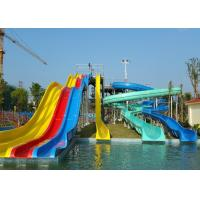 Wholesale Adult Or Children Combined Spiral Water Slide / Water Park Equipment from china suppliers