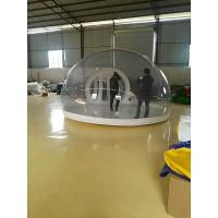China Inflatable Bubble Tent With Transparent PVC Tarpaulin For Party on sale