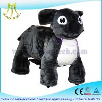 Wholesale Hansel stuffed animal ride electronic battery powered ride on animals from china suppliers
