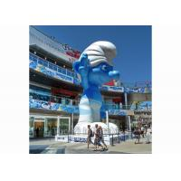 Wholesale Outdoor Event Inflatable Replica / Inflatable Smurf Character with Digital Printing from china suppliers