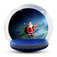 Wholesale Transparent Inflatable Human Snow Globe Photo Booth With Blower EN71 from china suppliers