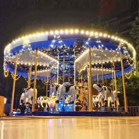 Wholesale Fairground Carousel Horses Bull Cow Shape Indoor Outdoor Design from china suppliers