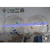 Quality Adults Giant  Inflatable Human Water Bubble Ball Rental CE / UL / ROHS for sale