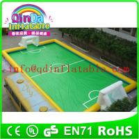 Wholesale outdoor inflatable game for sale Inflatable Soccer Court/Soccer Field/Soccer Wall for Sale from china suppliers