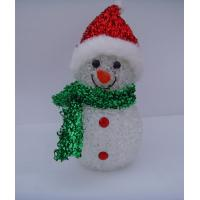 Wholesale Indoor Colorful Hat Snowman Christmas Lights LED White Body Eco Friendly, Non Toxic from china suppliers