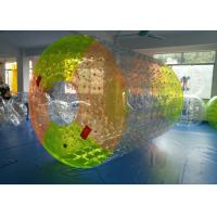 Wholesale Amazing Inflatable Amusement Park Lock Floating Water Ball / Roller For Adults from china suppliers
