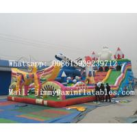 Best Price Large Outdoor Commercial Inflatable Playground Bouncer For Kids Sale
