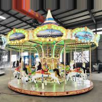 Wholesale European Style Horse Carousel Ride 16 26 Seats Customized Decoration from china suppliers
