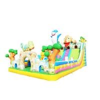 China Chameleon Inflatable Bouncy Slide High Durability Anti - Fade For Children on sale