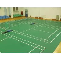 Quality Assorted Color Tennis Court Flooring , Safe Outdoor Volleyball Court Surfaces for sale