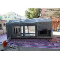 Wholesale Air Sealed Frame Inflatable Spray Paint Booth Tent For Car Washing from china suppliers