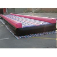 Wholesale Waterproof 0.6mm / 0.9mm PVC Inflatable Air Tumble Track For Cheerleaders from china suppliers