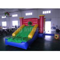 Wholesale Home Children Jumping Bouncy Castles With Slide / Inflatable Air Bouncer from china suppliers