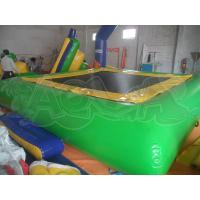 Wholesale Inflatable Green Water Trampoline from china suppliers