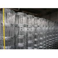 Buy cheap Hot Dipped Galvanized Grassland Woven Field Fence In Rolls From 0.8m to 1.8m from wholesalers
