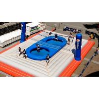Wholesale Durable 0.55mm PVC Inflatable Bossaball Court For Adult Inflatable Games from china suppliers