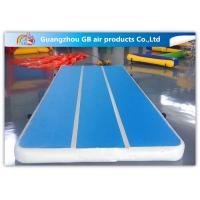 China Tumble Track Inflatable Air Mat , Inflatable Sports Games Gym Mattress Training on sale