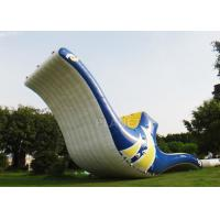 Quality PVC Inflatable Water Games 12 X 4 X 3 M Floating Totter Toys Digital Printing for sale