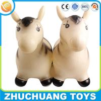 Wholesale plastic inflatable natural world wild animals zebra horse toy from china suppliers