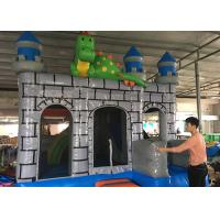 Buy cheap 3 In 1 Big Dragon Bounce House Slide Combo , Dinosaur Jumping Bounce House from wholesalers