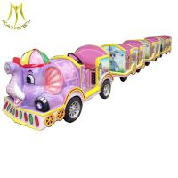 Wholesale Hansel children amusement rides electric tourist trackless train for sale from china suppliers