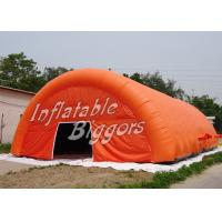 Wholesale Rental Advertisement Orange Inflatable Dome Tent Marquee With Digital Inkjet Printing from china suppliers