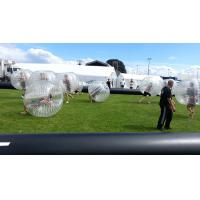 Big Inflatable Bubble Soccer Diameter 1.2m / 1.5m / 1.8m For Head Sport Football
