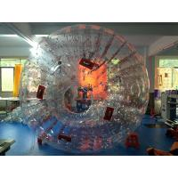 Wholesale Outdoor Inflatable Water Toys For Adults Summer Game Red Human Zorb Ball from china suppliers
