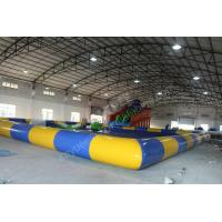 Wholesale Inflatable slide with pool,inflatable gaint slide,Amusement water Park from china suppliers