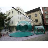 China Custom-made PVC and PVC Tarpaulin Inflatable Bubble Tent For Camping Party on sale