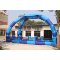 Giant Airtight Arch Tent / Inflatable Pool Tent For Outdoor Water Games