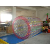 Quality High Quality Color Dot Inflatable Water Roller for Recreation In Kids Inflatable Pool for sale
