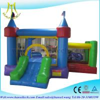 Wholesale Hansel bouncy castles with slide,bouncy castles with slides,inflatable rides from china suppliers