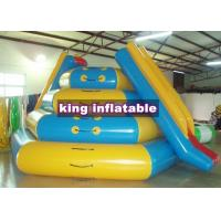 PVC Inflatable Water Parks , Inflatable Playground For Rental Durable for sale