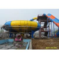 Wholesale Fiber Glass Aqua Park Equipment Durable Water Park Space Bowl Slide For Kids / Adults from china suppliers