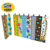 Outdoor Plastic Amusement Park Climbing Wall Holds 1 Years Warranty