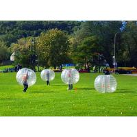 Wholesale Clear / Blue Inflatable Bumper Ball SGS Certification Bubble Knocker Ball from china suppliers