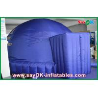 Wholesale Dark Blue 5m Inflatable Dome Tent , Oxford Projection Cloth Inflatable Projection Dome from china suppliers