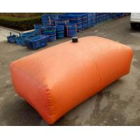 Wholesale 1000L Fire Fighting Tarpaulin Water Tank For Agricultural Irrigation 1.2MM Thickness from china suppliers