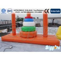 Wholesale Funny Inflatable Water Game For Adults' Interaction , Swimming pool Inflatable Water from china suppliers
